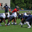 Stock Photo: 2009 Saint Louis Rams Training Camp