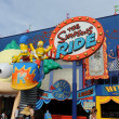 Simpsons Ride at Universal Studios in Orlando — Stock Photo #13518954