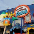 Постер, плакат: The Simpsons Ride at Universal Studios in Orlando