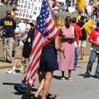 Tea Party Rally in Saint Louis Missouri — Stock Photo #13519227