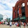 Stock Photo: Busch Stadium and Arch