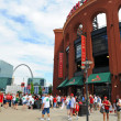 Постер, плакат: Busch Stadium and The Arch