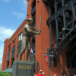 Entrance of Busch Stadium — Stock Photo