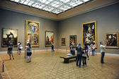 Art Institute of Chicago Gallery — Stock Photo
