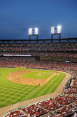 Busch Stadium at Night — Stock Photo