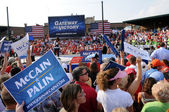 McCain Rally — Stock fotografie