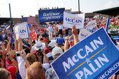McCain Rally — Stock Photo