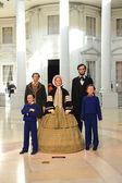 The Lincoln Family — Stock Photo