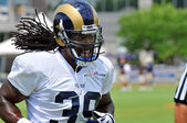 Steven Jackson, Rams Running Back — Stock Photo