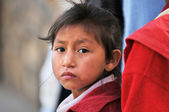 Portrait of Peruvian Girl — Stock Photo