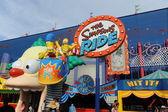The Simpsons Ride at Universal Studios in Orlando — Stock Photo