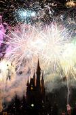 Disney hrad v orlandu — Stockfoto