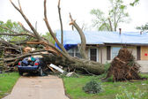 Tornado Damage In Saint Louis — Stock Photo
