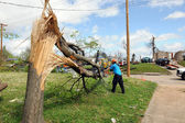 Destruction After Tornadoes Hit Saint Louis — Stock Photo