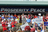 Rally At O'Fallon, Missouri for McCain and Palin — ストック写真