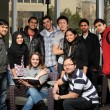 Stock Photo: Diverse Group of Students