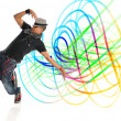 Stock Photo: hip hop dancer