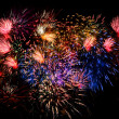 Stock Photo: Fireworks Finale