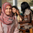 Islamic Young Woman — Stock Photo