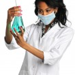 Female Lab Technician — Stock Photo
