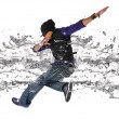 Royalty-Free Stock Photo: Hip Hop Dancer