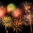 Fireworks of Different Colors and Shapes — Stock Photo #13812154