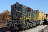 Vintage lokomotif — Stok fotoğraf