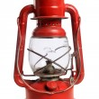 Red Railroad Lantern — Foto Stock