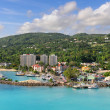Stock Photo: Ocho Rios in Jamaica