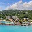 Ocho Rios in Jamaica - Stock Photo