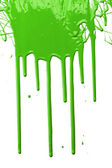 Green Paint Dripping — Stock Photo