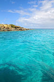 Seascape in Saint Thomas — Stock Photo