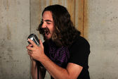 Man Singing — Stock Photo