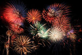 Fireworks Finale — Stock Photo