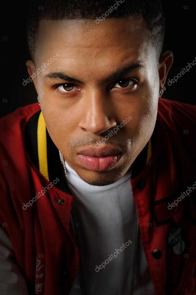Portrait of young African american man   Stock Photo #13963231