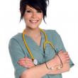 Young Health Care Provider — Stock Photo