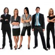 Stock Photo: Young Businesspeople Standing