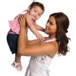 Hispanic Mother and Child — Stock Photo