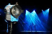 Luz e palco — Fotografia Stock