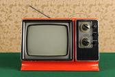 Télévision vintage — Photo