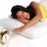 Woman Waking Up — Stock Photo #14183925
