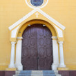Entrance to Colonial Church - Foto de Stock