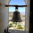 Bell Tower in Old Church — Stock Photo