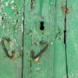 Royalty-Free Stock Photo: Detail of Grunge Old Door