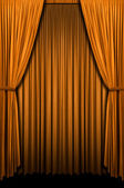 Golden Curtain — Stock Photo