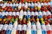 Renkli şişe içecekler — Stok fotoğraf