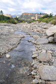 Rocky River Bed in the Andes of Peru — Stock Photo