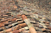 Rooftops With Clay Shingles — Stock Photo