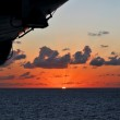 Sunset at Sea From Cruise Ship — Stock Photo #14566969