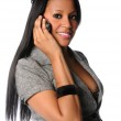 Businesswoman Talking On Cell Phone — Stock Photo #14567981